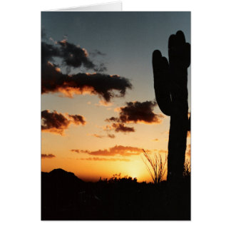 Arizona Sunet Picture Father's Day Card