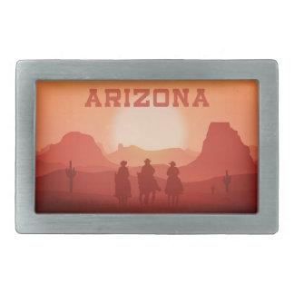 Arizona Sunset belt buckle