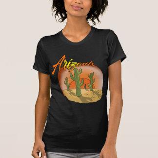 ARIZONA Sunset Cactus T-Shirt