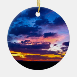 Arizona Sunset Christmas Ornament