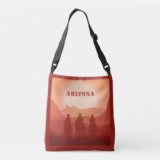 Arizona Sunset custom text bags