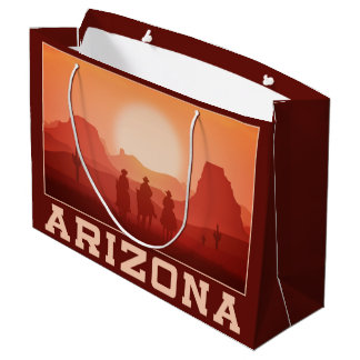 Arizona Sunset large gift bag