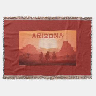 Arizona Sunset throw blanket