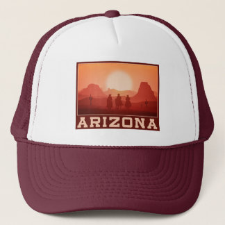 Arizona Sunset trucker hats