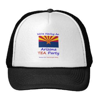 Arizona TEA Party - We re Taxed Enough Already Trucker Hat