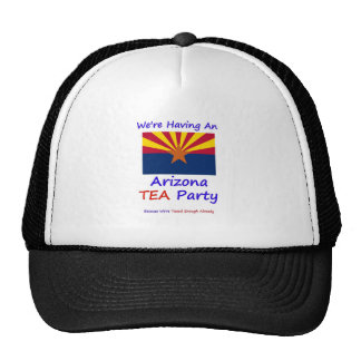 Arizona TEA Party - We're Taxed Enough Already! Cap