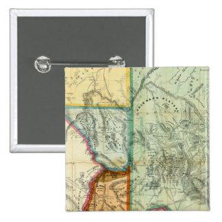 Arizona Territory 15 Cm Square Badge