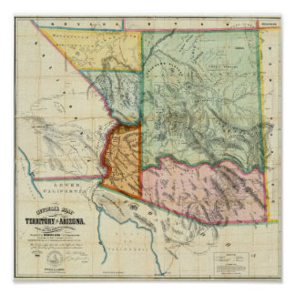 Arizona Territory Print
