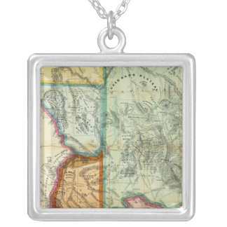 Arizona Territory Silver Plated Necklace