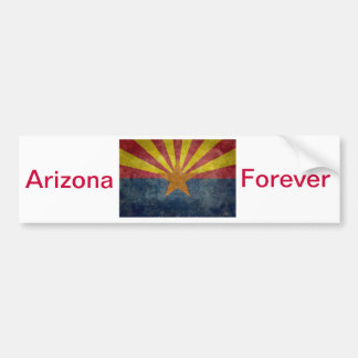Arizona, the 48th state Flag Bumper Sticker