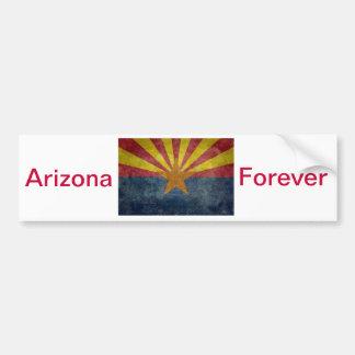 Arizona, the 48th state Flag Bumper Sticker