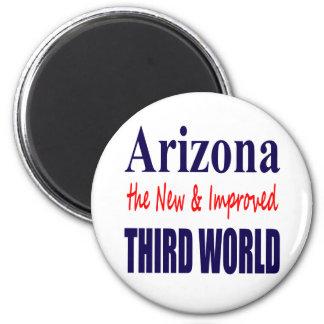 Arizona the New & Improved THIRD World 6 Cm Round Magnet