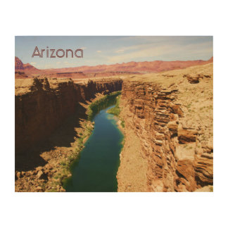 Arizona Travel Poster Style Landscape Photograph