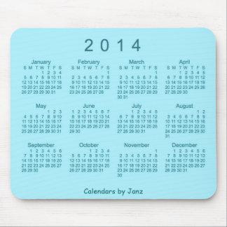 Arizona Turquoise 2014 Calendar Mousepad