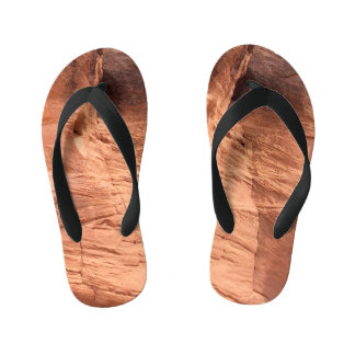 ARIZONA - Upper Antelope Canyon A - Red Rock Kid's Flip Flops