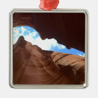 ARIZONA - Upper Antelope Canyon B - Red Rock Christmas Ornament
