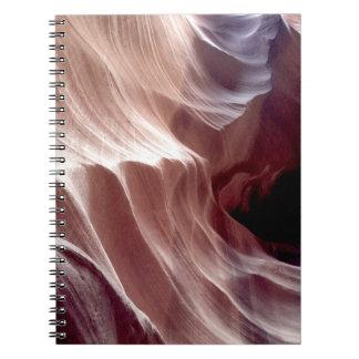 ARIZONA - Upper Antelope Canyon D - Red Rock Spiral Notebook