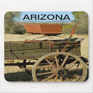Arizona wagon mousepad