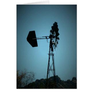 Arizona Windmill Greeting Card