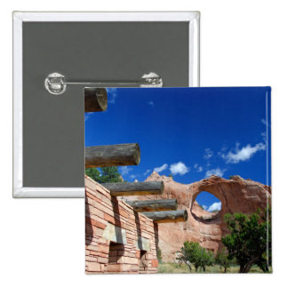 Arizona, Window Rock. Capital of the Navajo 15 Cm Square Badge