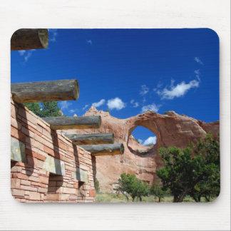 Arizona, Window Rock. Capital of the Navajo Mouse Mat