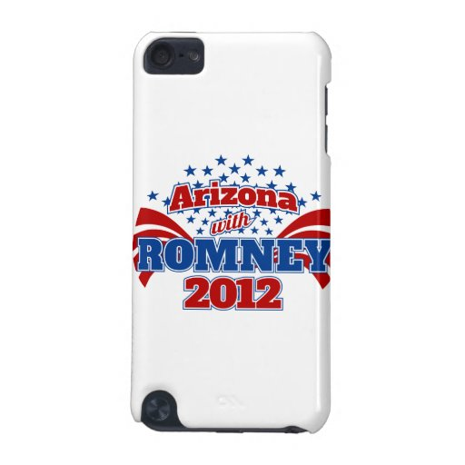 Arizona with Romney 2012 iPod Touch (5th Generation) Case