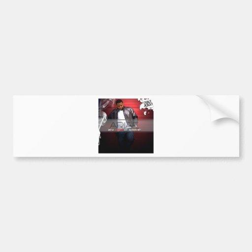 Arjae Matthews Style 3 Music Merch Bumper Sticker