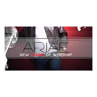 Arjae Matthews Style 3 Music Merch Photo Card