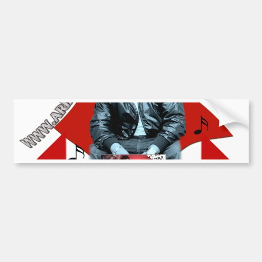 Arjae Matthews Style 7 Merchandise Collection Bumper Stickers
