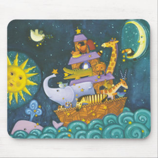Ark At Night Mouse Mat