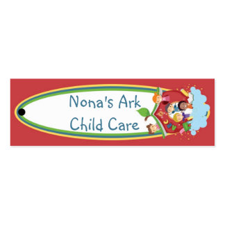 Ark Child Care Hang Tag Pack Of Skinny Business Cards