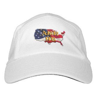 ARK HT the USA map&flag, CAP