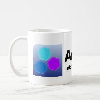 Ark Linux mug (logo+URL)