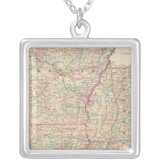 Ark, Miss, La 2 Silver Plated Necklace