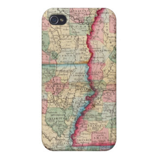 Ark, Miss, La Map by Mitchell Case For The iPhone 4