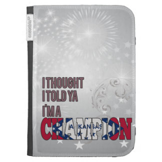 Arkansan and a Champion Kindle Keyboard Cases