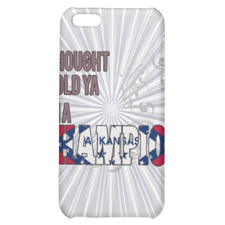 Arkansan and a Champion iPhone 5C Cases