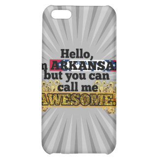 Arkansan, but call me Awesome iPhone 5C Cover
