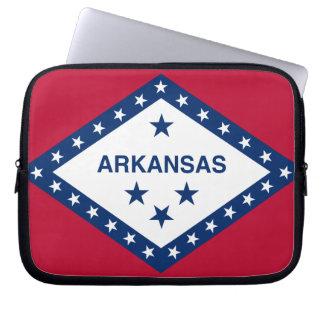 Arkansan Flag Laptop Sleeve