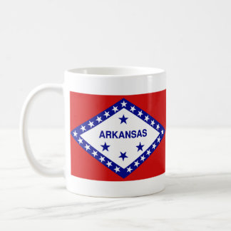 Arkansan Flag + Map Mug