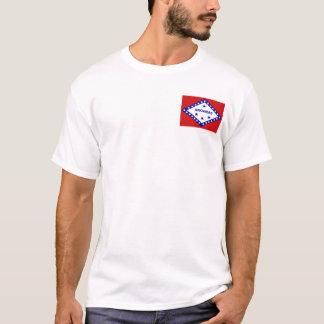 Arkansan Flag + Map T-Shirt