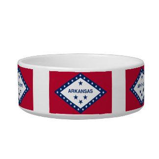 Arkansan Flag Cat Bowl