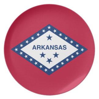 Arkansan Flag Party Plate