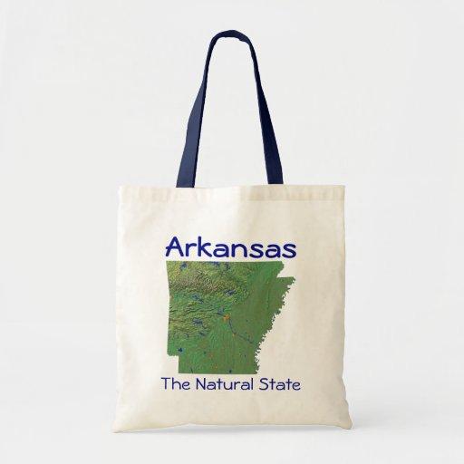 Arkansan Map Bag