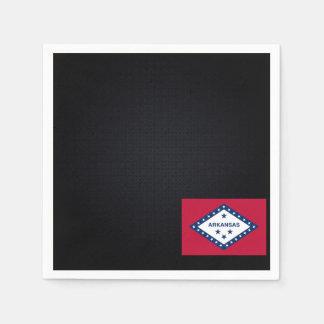 Arkansan National flag of Arkansas-01.png Disposable Napkin