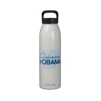 Arkansans for Obama.png Drinking Bottle