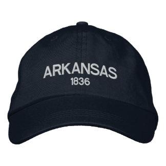 Arkansas 1836 Personalized Adjustable Hat Baseball Cap