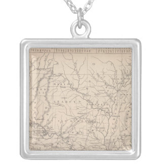 Arkansas 2 silver plated necklace