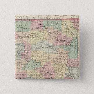 Arkansas 3 15 cm square badge