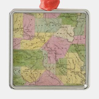 Arkansas 3 christmas ornament